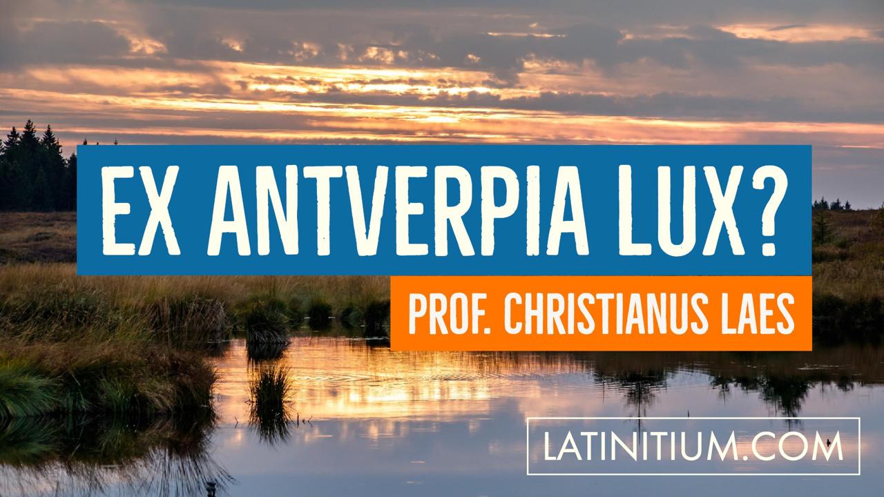 Christianus Laes Professor de studiis linguae Latinae narrat.
