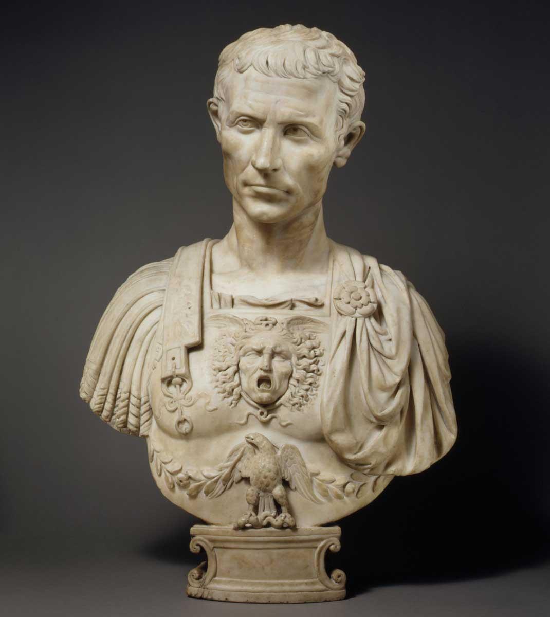 Julius Caesar  by Andrea di Pietro di Marco Ferrucci, 1512-14.