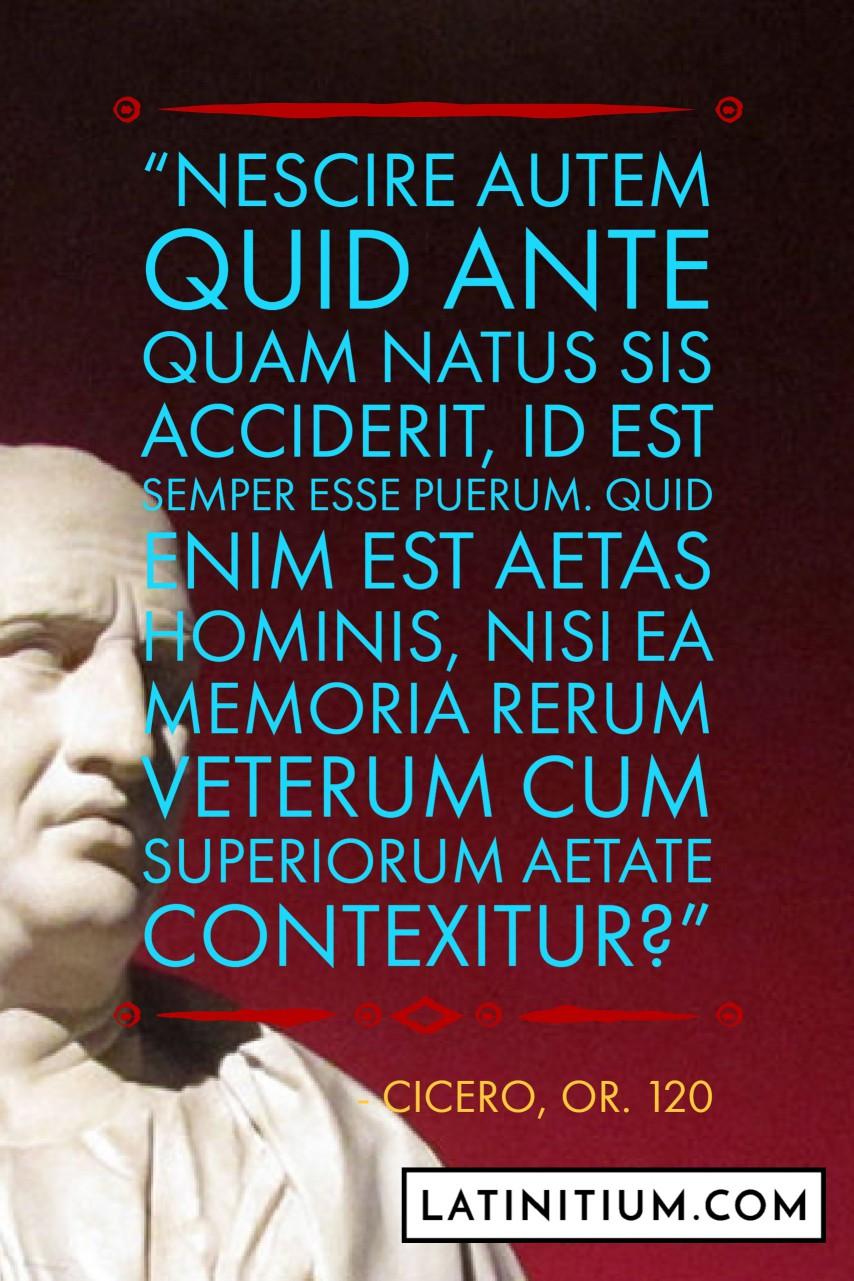 Latinitium – Latin Quotes & Sayings
