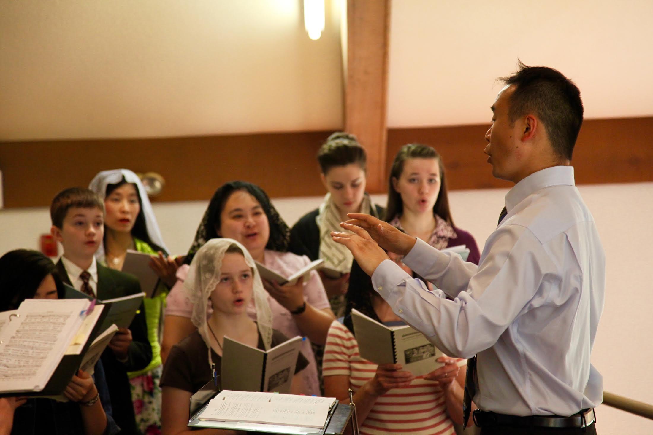 Cantare Amantis Est. Image courtesy of  Holy Family Choir.