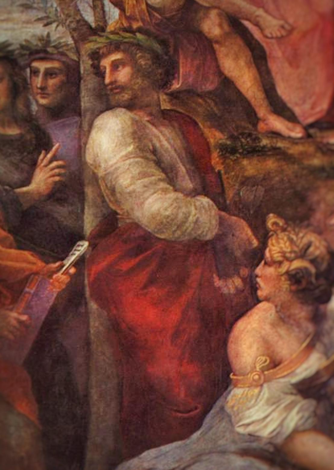 """Ennius, from Raphael's """"The Parnassus"""""""