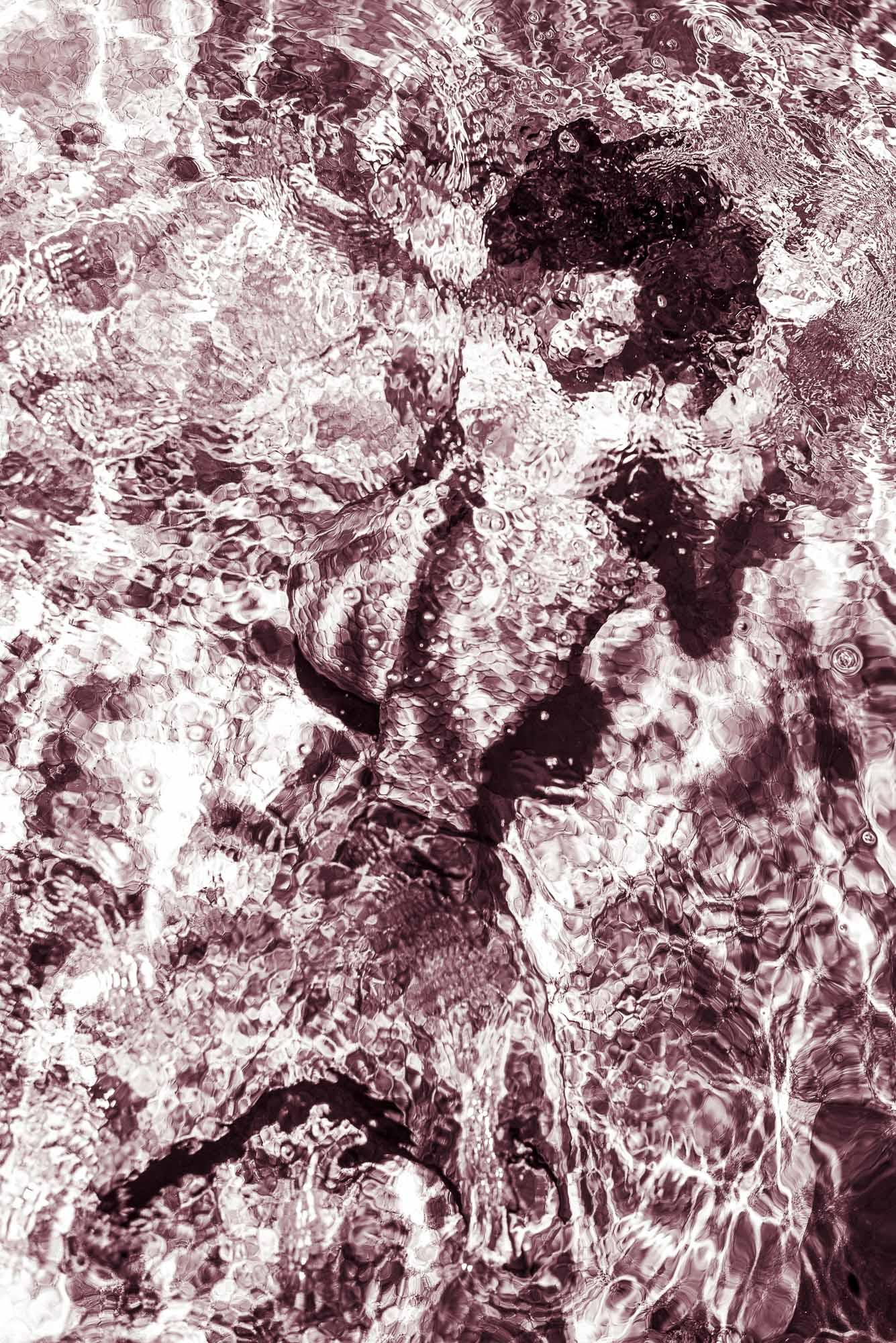 Mermaid red #/3 fine art print Hahnemühlepapier Location Marrakesch Marokko