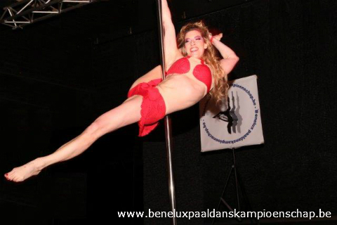 POLE Choreography created for the Benelux Pole Championship 2013 and World Pole Sport Championship 2013 on the theme of salsa and latin dance. Award: Benelux vice-champion and Wold Finalist 2013