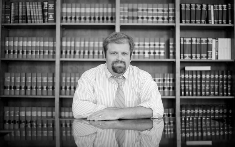 Daniel Richardson, Bo's pro bono Vermont attorney (photo Ben Sarle)