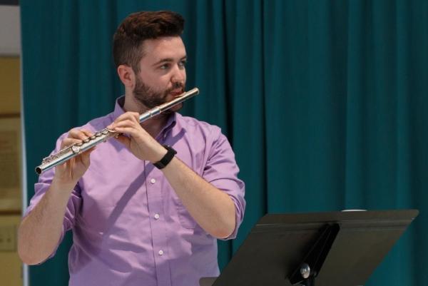 M.M. The Hartt School  Flute Performance   B.M. West Chester University  Flute Performance