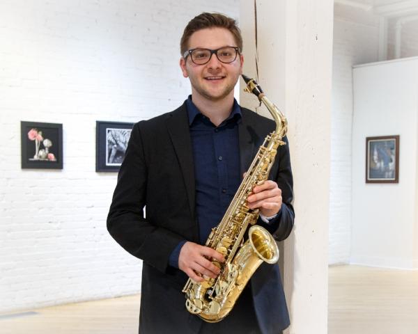 A.D. Conservatoire à Rayonnement Régionale de Boulogne-Billancourt Saxophone Performance  M.M. University of Florida Saxophone Performance  B.M. Susquehanna University Saxophone Performance