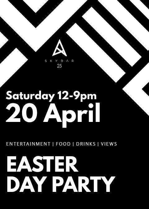 Easter Day Party Skybar25 Accra