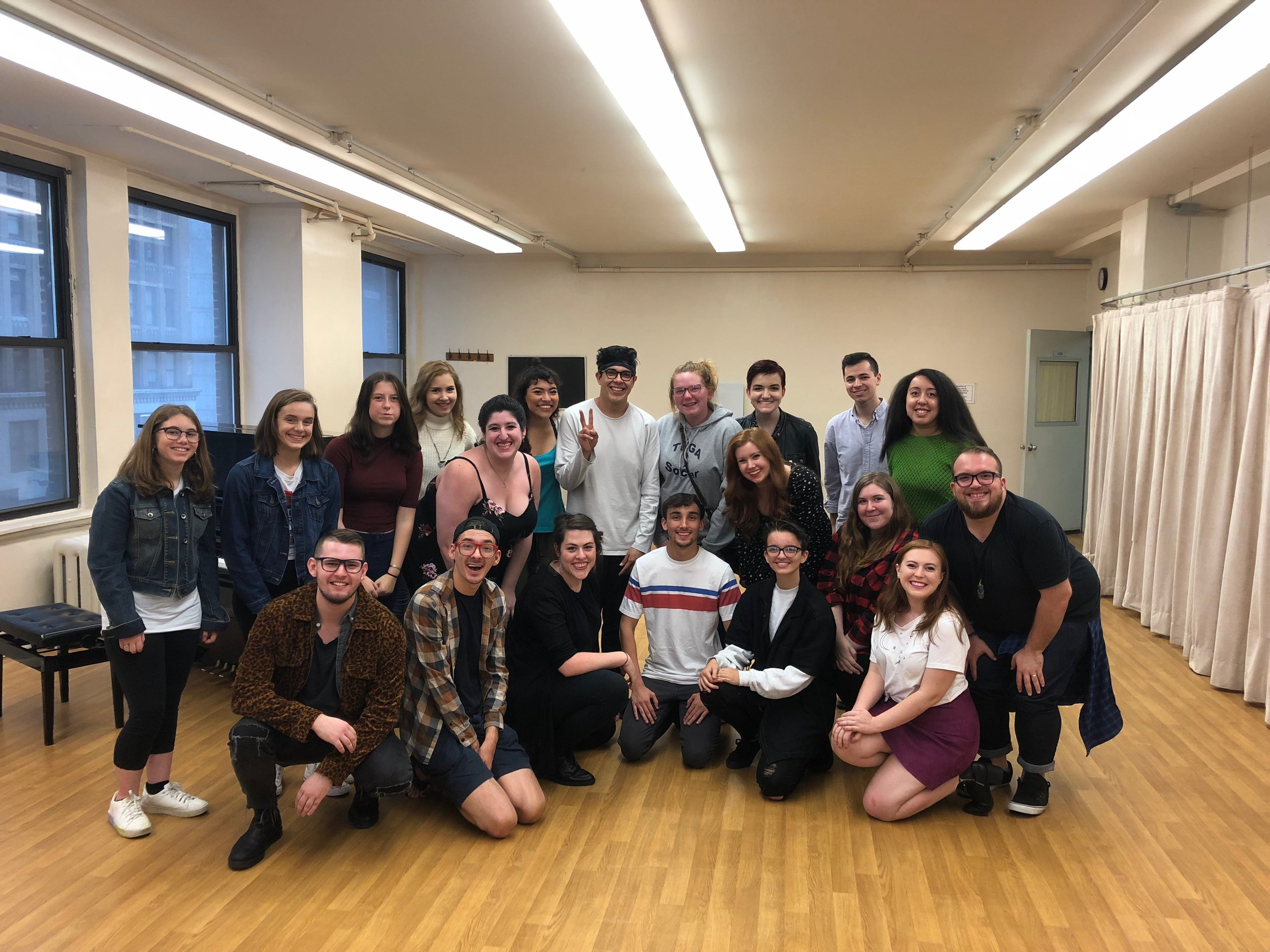 Congrats to our students at our George Salazar Master Class!