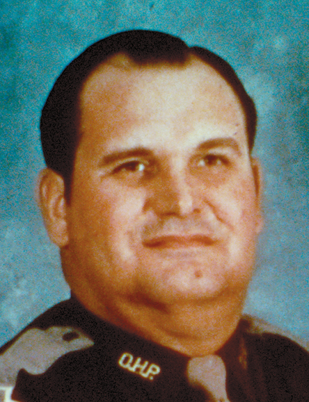 Trooper Edward Elliott    August 22, 1980   Elliot joined the OHP in 1966. Troopers Elliott and Tom Flanagan had stopped a truck driver for a traffic violation on the H.E. Bailey Turnpike near Lawton. Trooper Elliott was standing between his cruiser and the truck when a vehicle struck the rear of the unit and propelled it into him. Trooper Elliott was dead on arrival at a Lawton hospital. Trooper Flanagan, sitting in the unit, sustained minor injuries and later recovered.