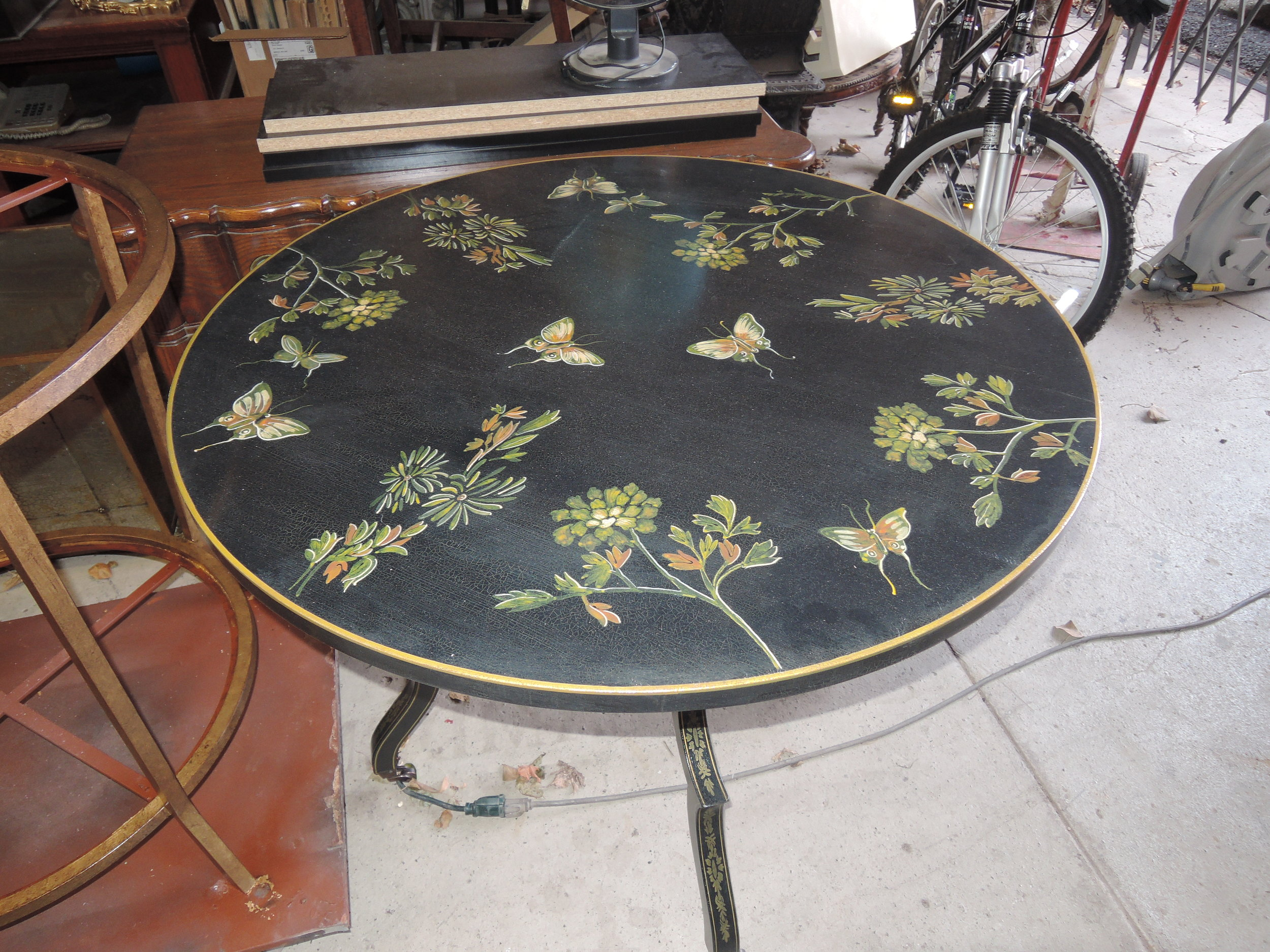 Jenkins Baer - Harwood Custom Round Table  4.JPG