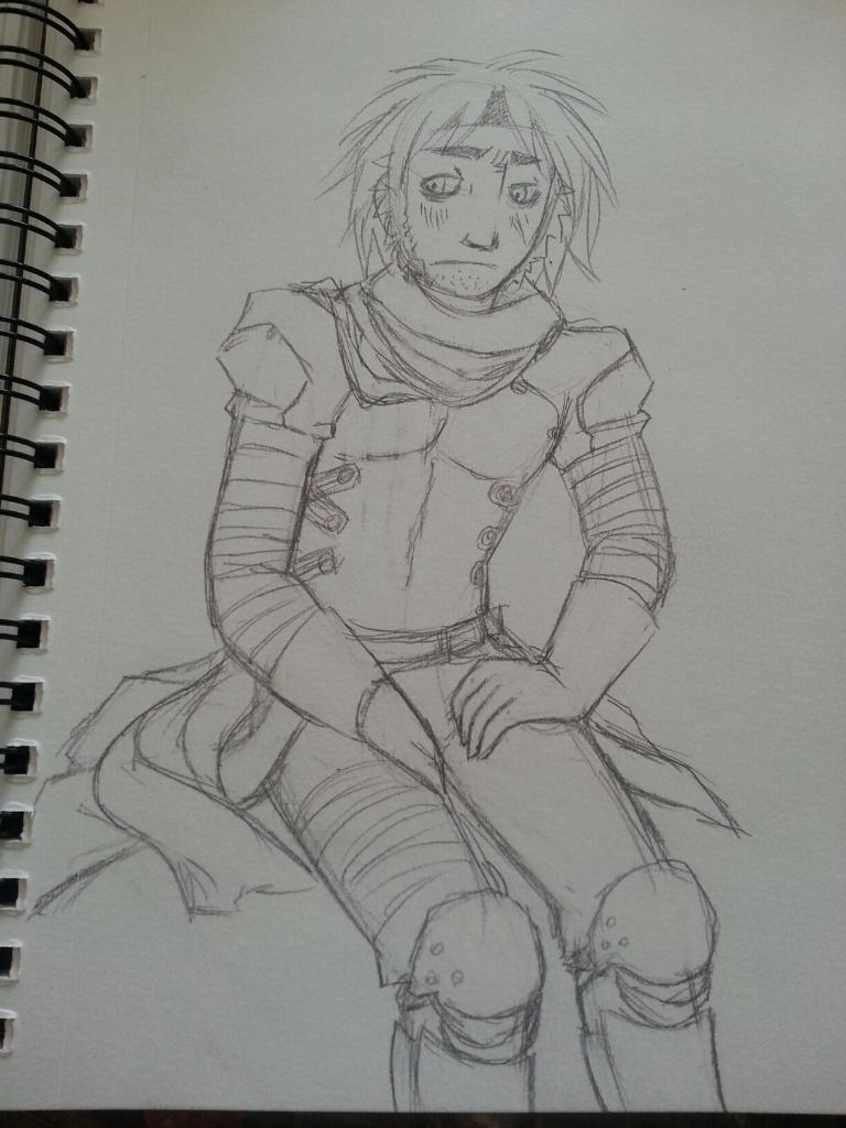 Sketch of Darius.