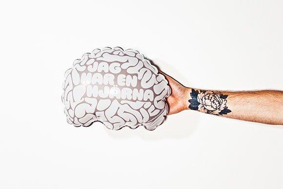 Visa att du har en hjärna ! DR för kampanjen  Hejdå alkoholskador .