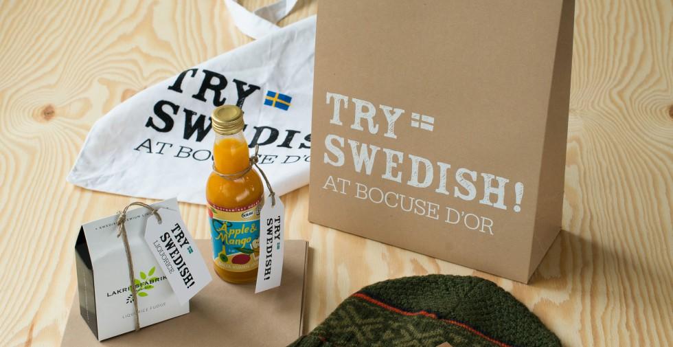 Try Swedish!  Koncept för att få världens alla matälskare att upptäcka vår matkultur och livsstil.