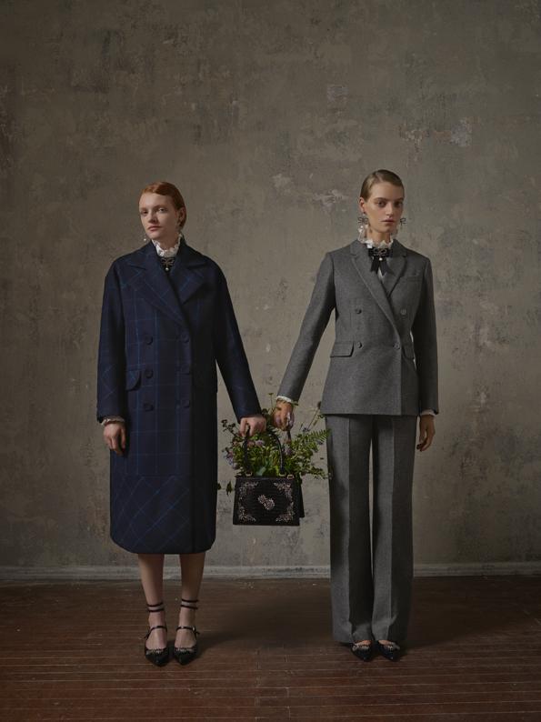 80-talsinspirerat mode från  Erdem x H&M .