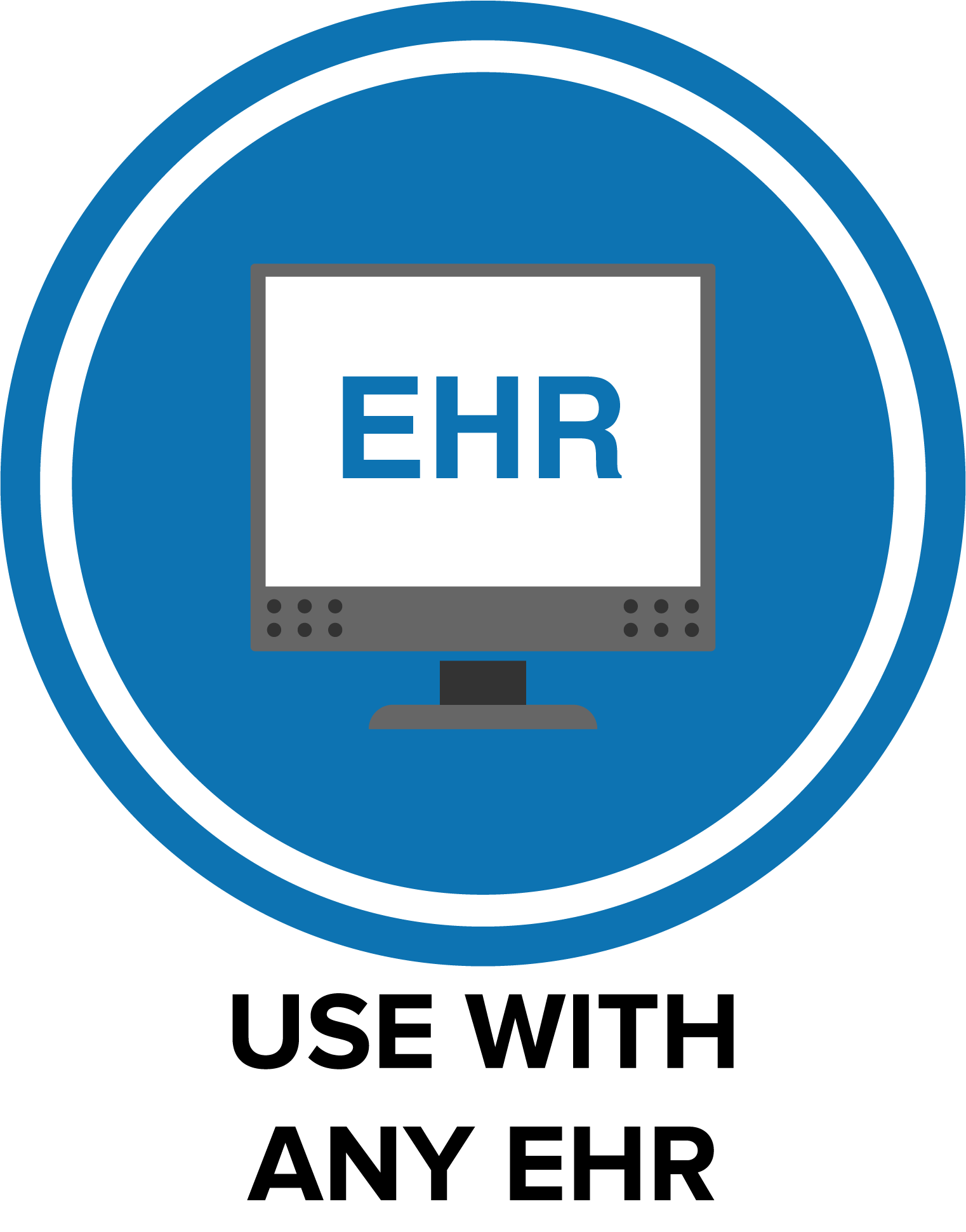 We've designed ScriptsIT to be used together with ANY EHR!  All care plans, summaries, and data can easily be downloaded and shared with your EHR.