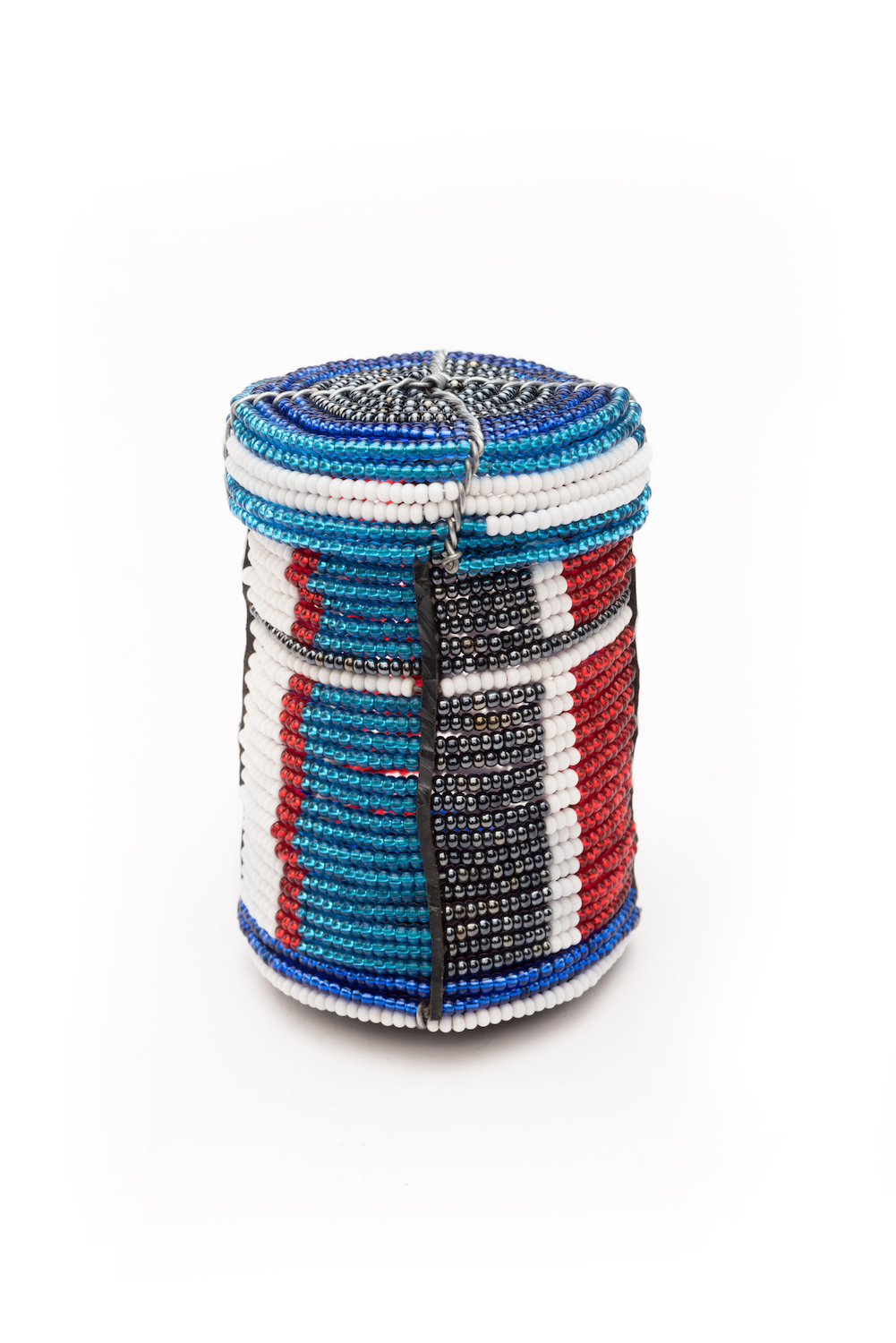Beaded box (tall)