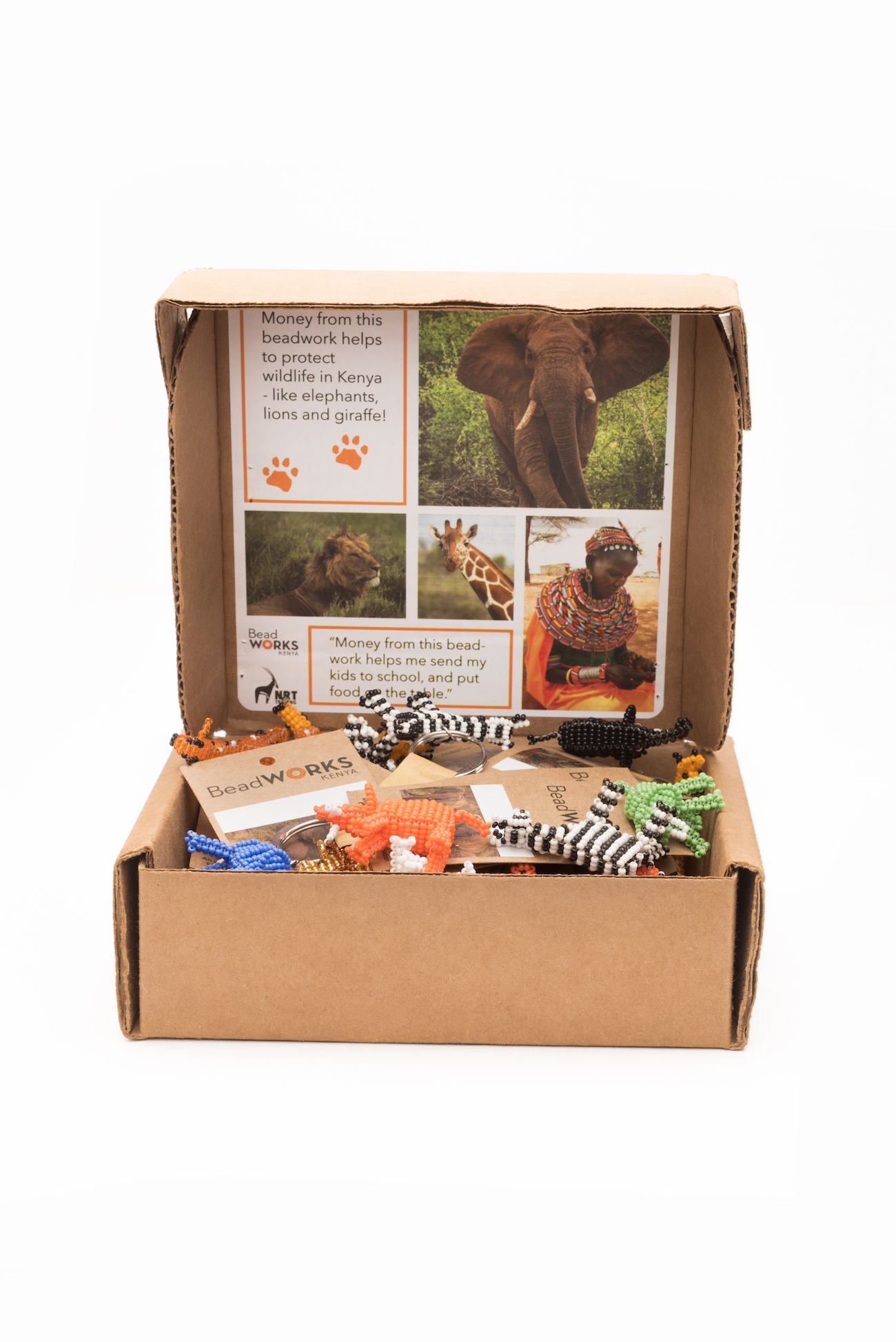 Selection of display/fundraising boxes