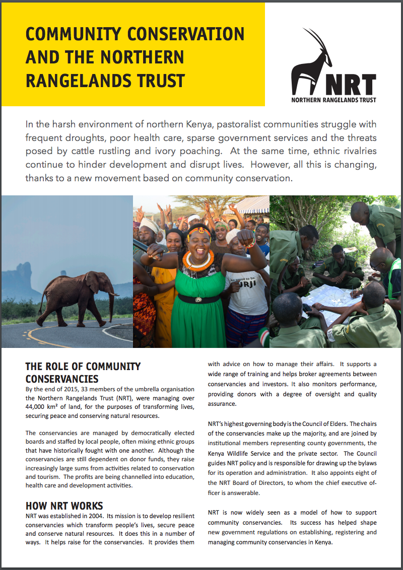 NRT factsheet