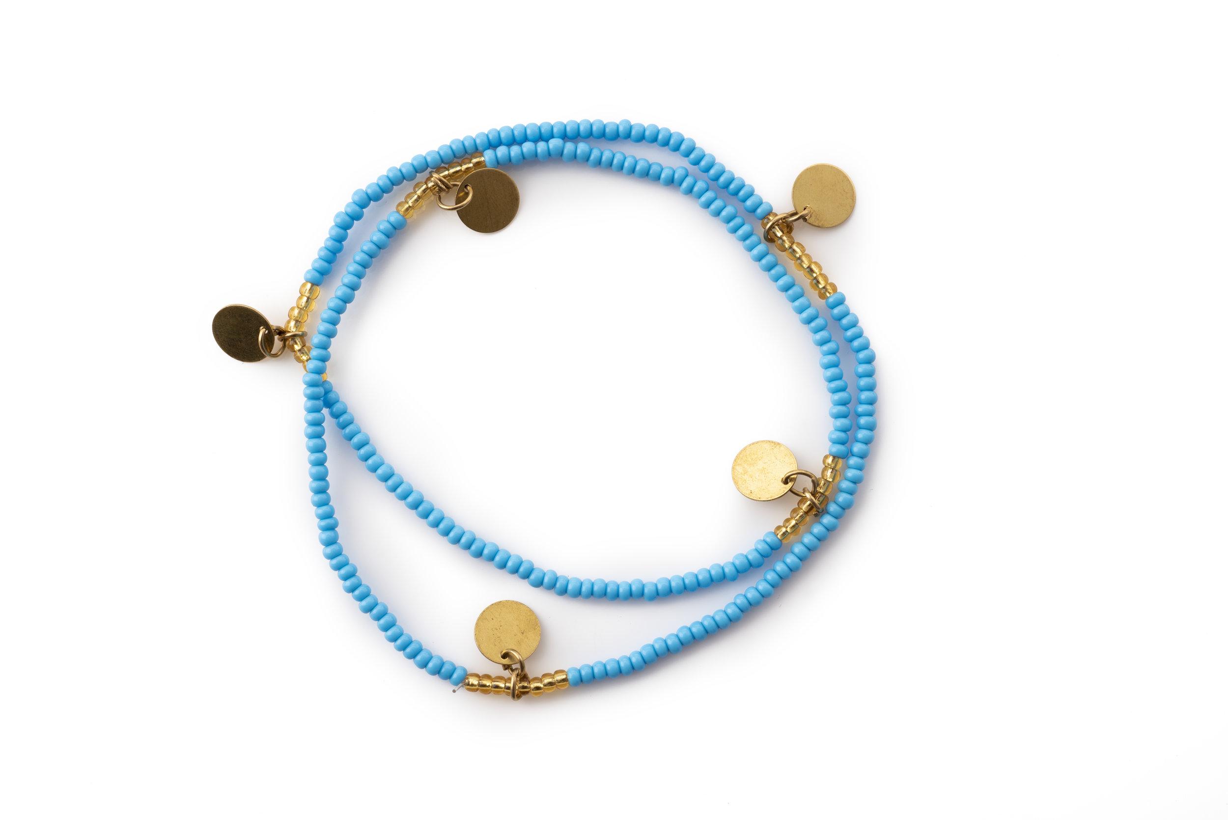 Giriama disc bracelet/anklet