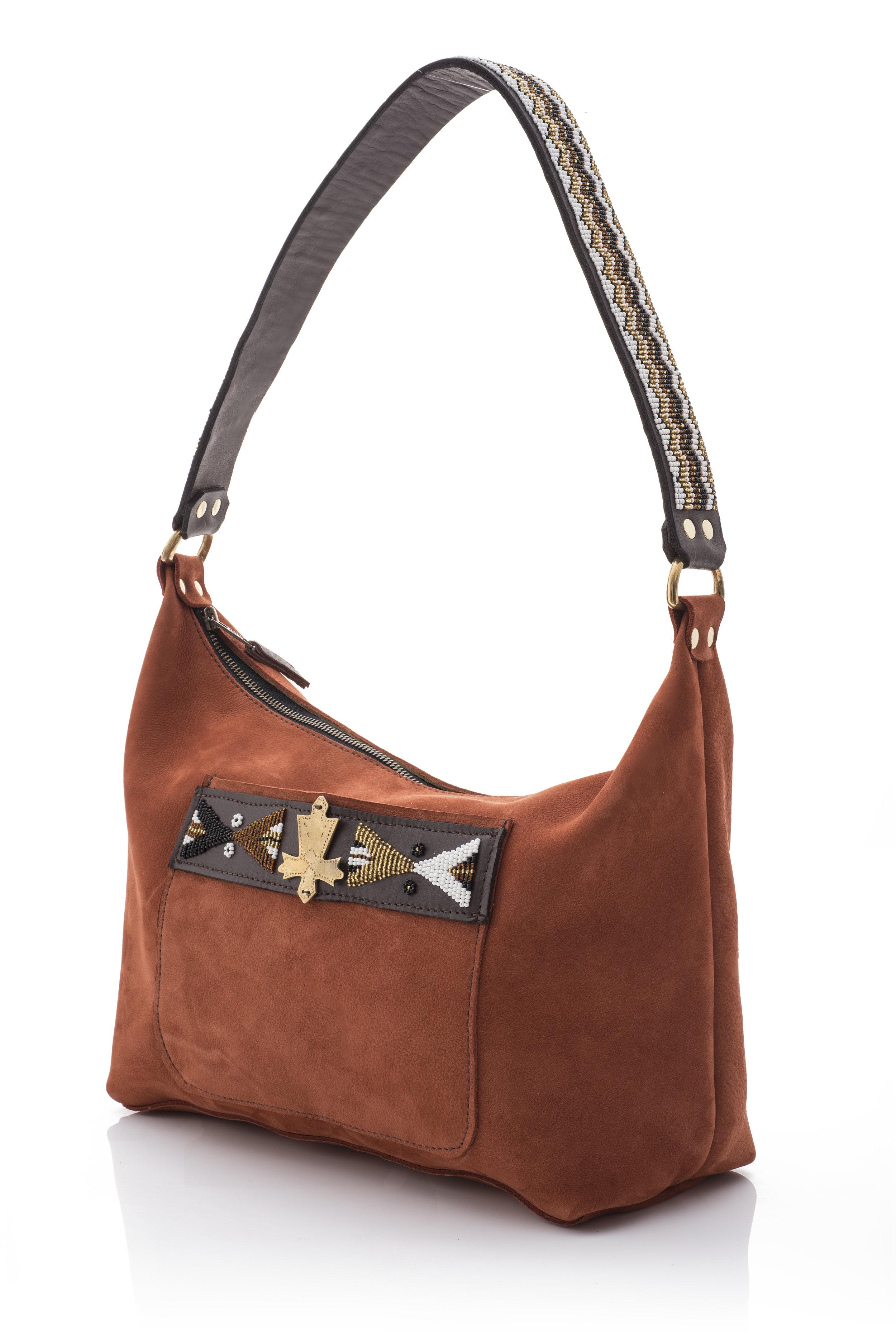 Suede lempaira purse