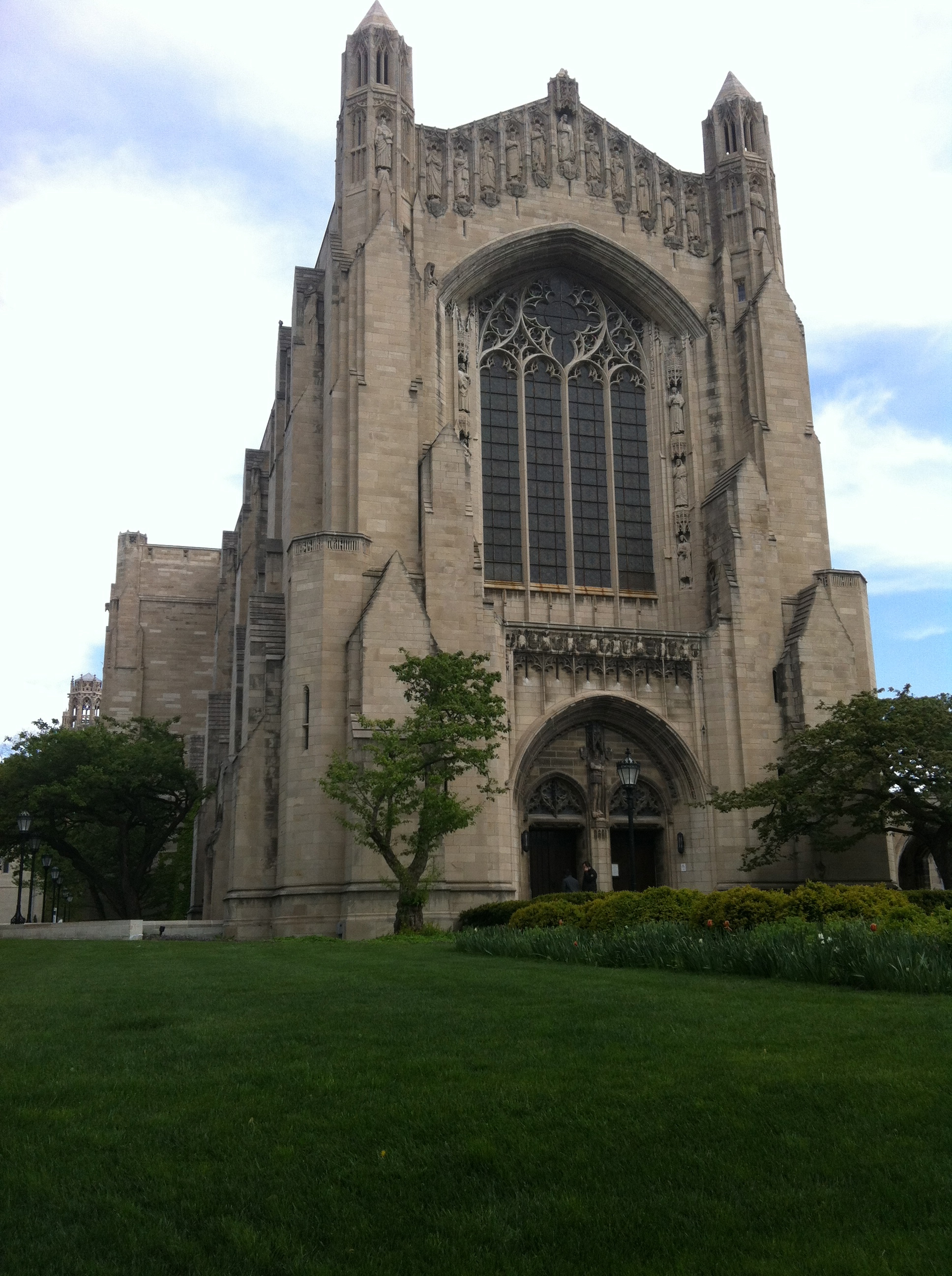 Rockefeller Chapel on the U of C campus. Hyde Park, IL.