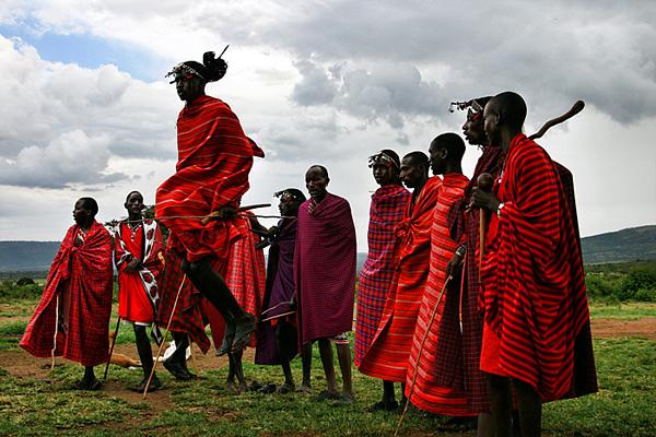 "by <u><a href=""http://www.dmitrimarkine.com"">Dmitri Markine Photography</a></u> <u><a href=""https://en.wikipedia.org/wiki/Maasai_people#/media/File:Masaidance.jpg"">via</a></u> Wikimedia Commons"
