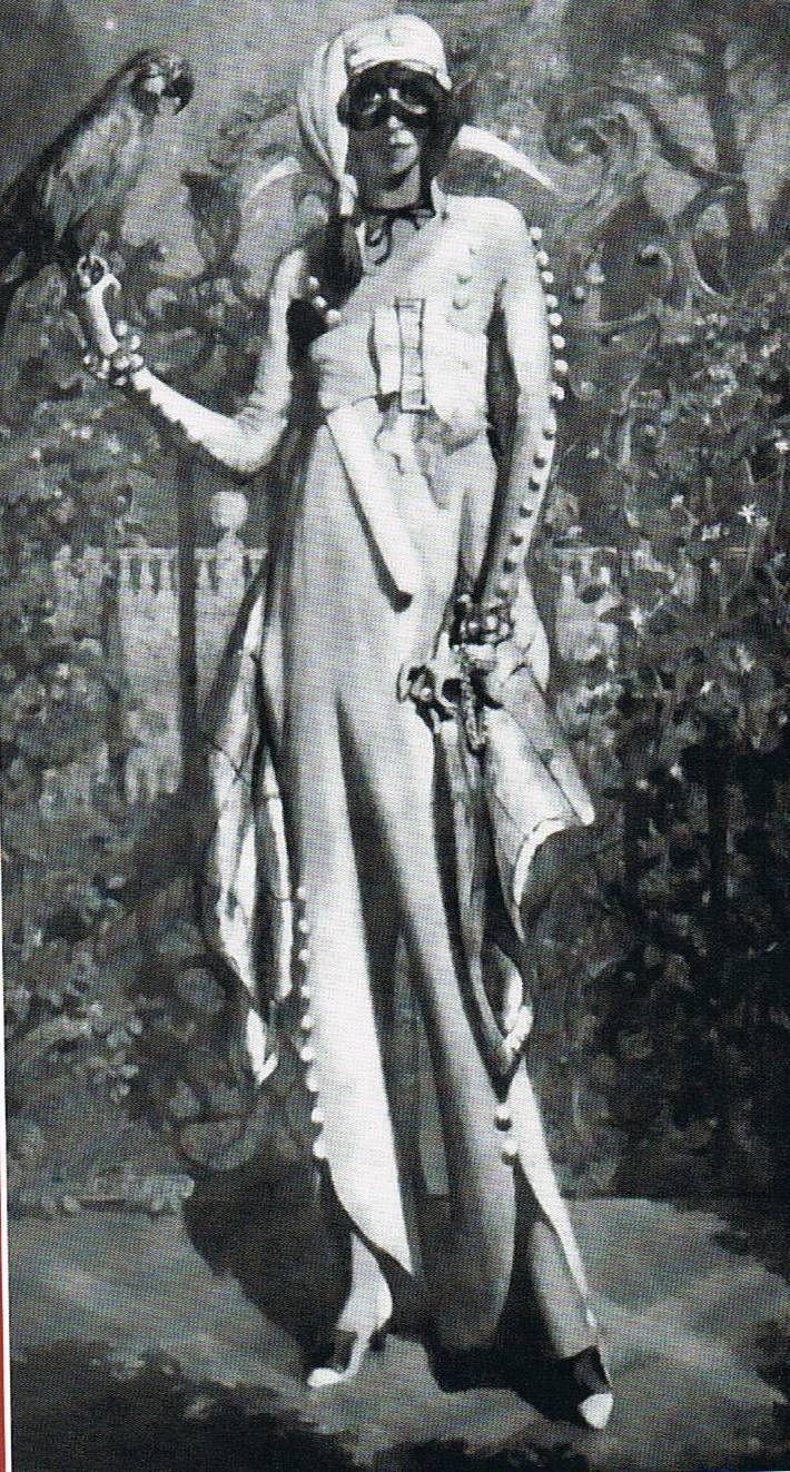 Guiglio de Blass | Marchesa Luisa Casati | 1913