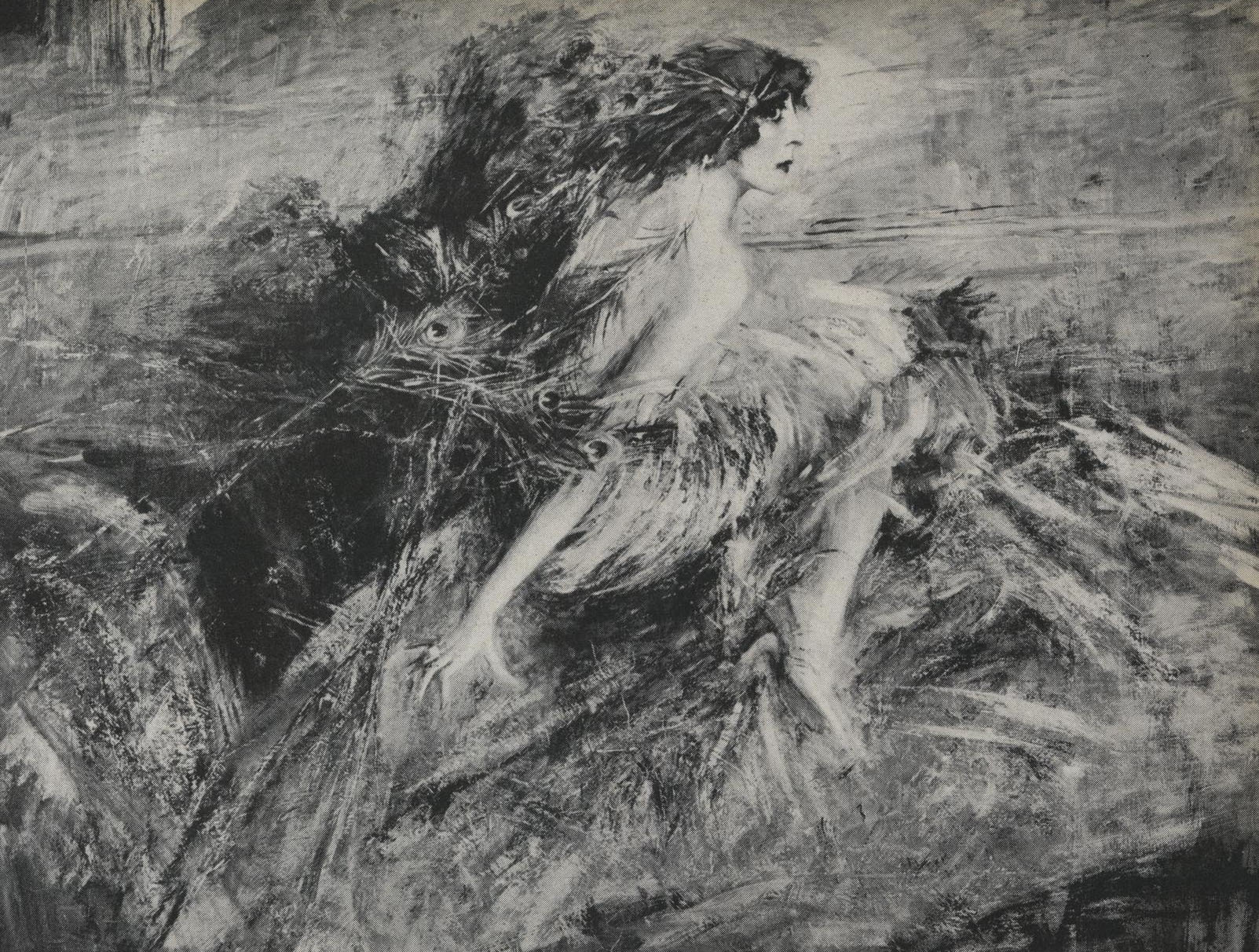 Giovanni Boldini | Portrait of the Marchesa Luisa Casati | 1914