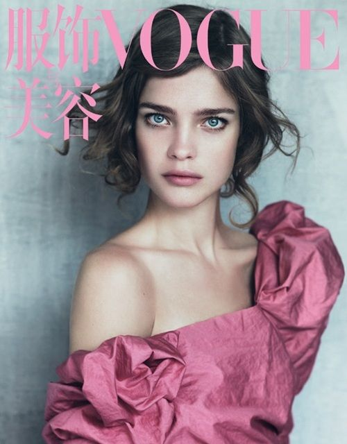 Have I been missing something all this time? Natalia Vodianova by Paolo Roversi for Vogue China, May 2010