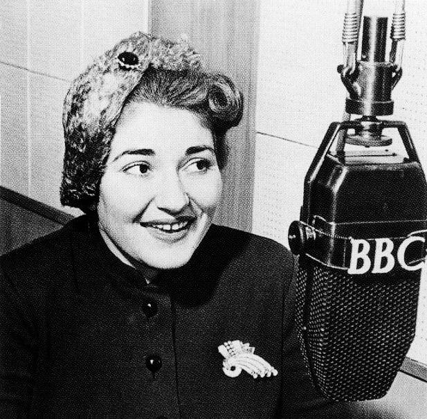 In 1952 in BBC Greek Service. Photo by  Nikos Pantazis/Pbase