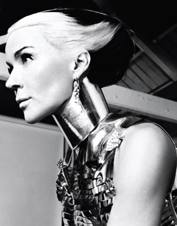Daphne Guinness by David Bailey for Harper's Bazaar, Feb 2011