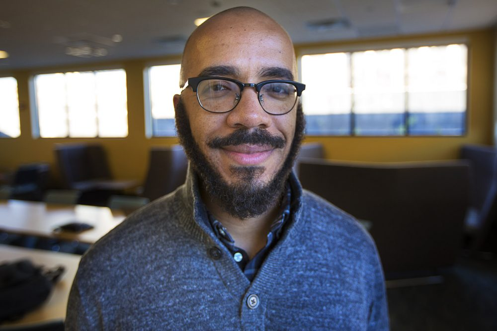 Clint Smith photographed by Jesse Costa/WBUR