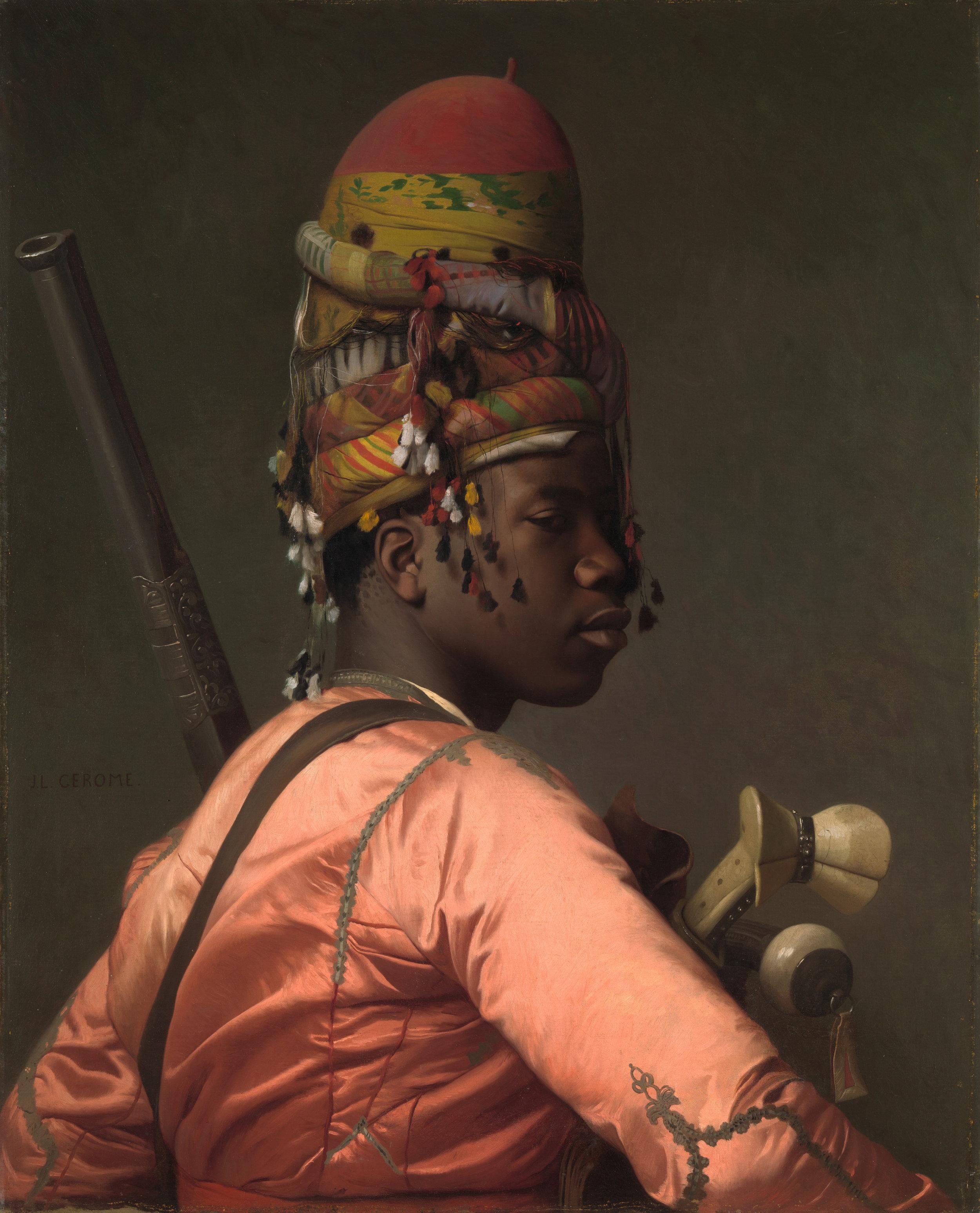 Jean-Léon Gérôme,Bashi-Bazouk, 1868-9  via  The Met
