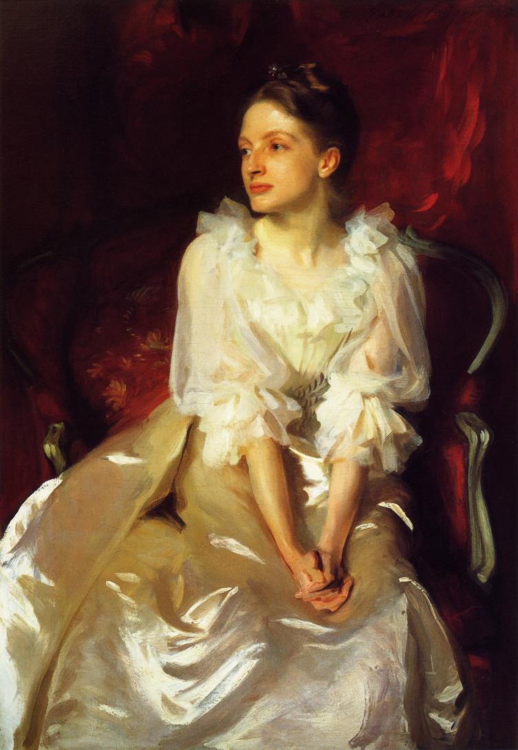 John Singer Sargent,Helen Dunham, 1892.