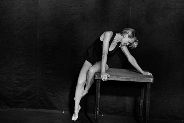 Robin Wright photographed by Peter Lindbergh for Pirelli