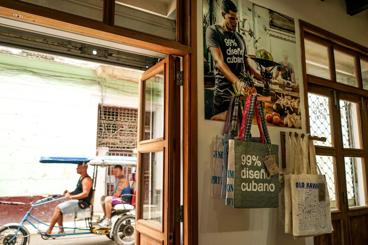 The Clandestina store in Old Havana / Photograph: Hannah Berkeley Cohen for Racked