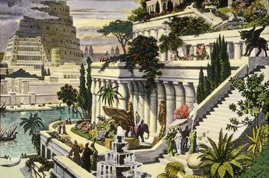 The Hanging Gardens of Babylon, Mesopotamia