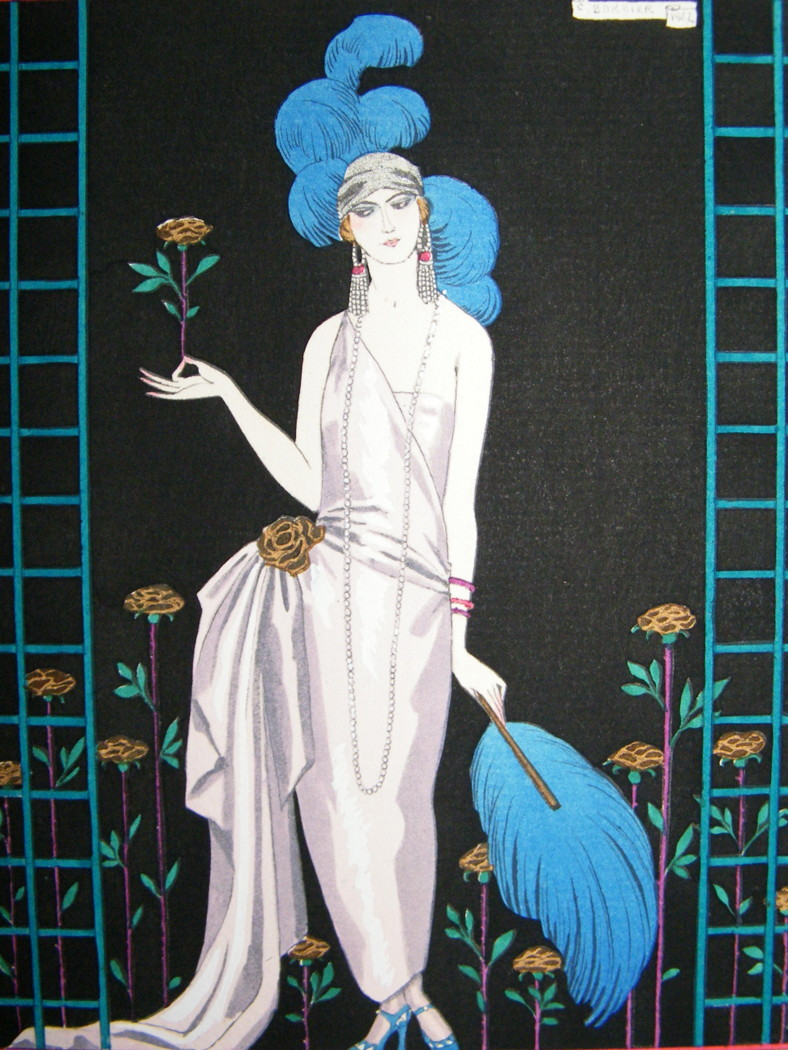 La Roseraie, 1922 featuring dress by the coutourier House of Worth