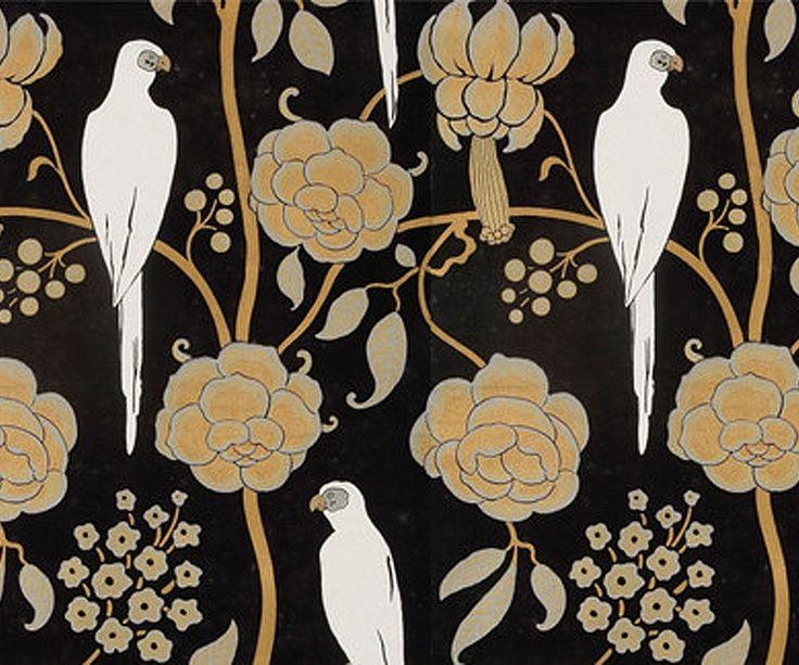A George Barbier wallpaper design