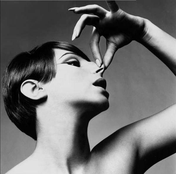 Barbara Streisand by Richard Avedon for Vogue