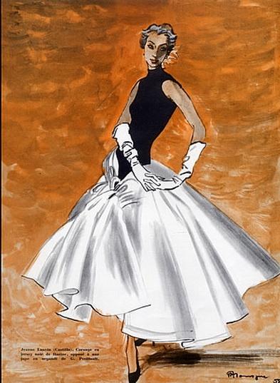 Lanvin Castillo, 1955