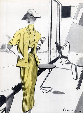 Madeleine de Rauch, 1954