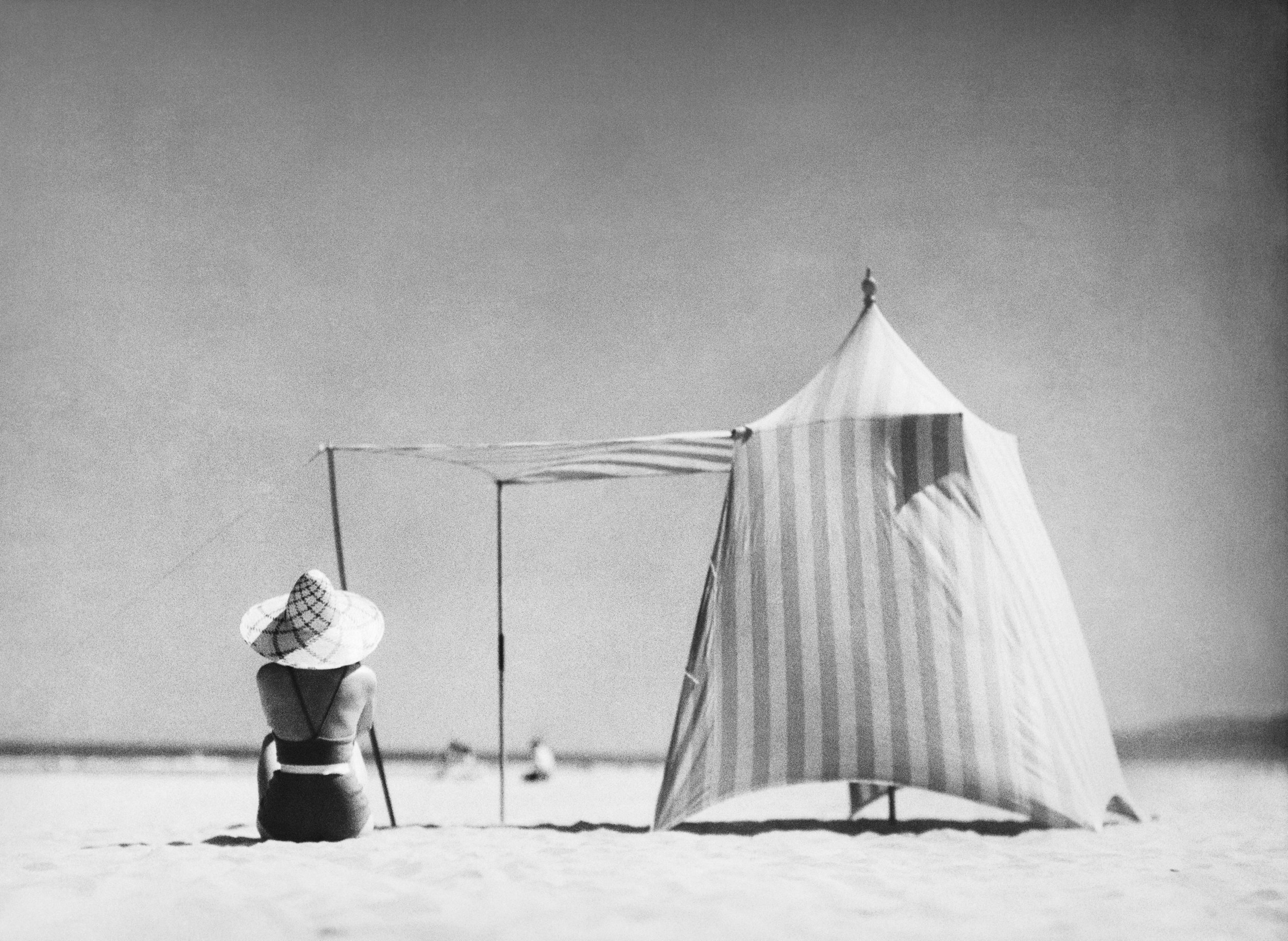 Photo by Jacques-Henri Lartigue, Hendaye, France 1934