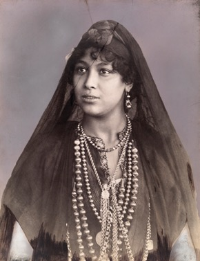 A Berber woman in Tangier, Morocco by David G. Fairchild/National Geographic Archive, date unknown