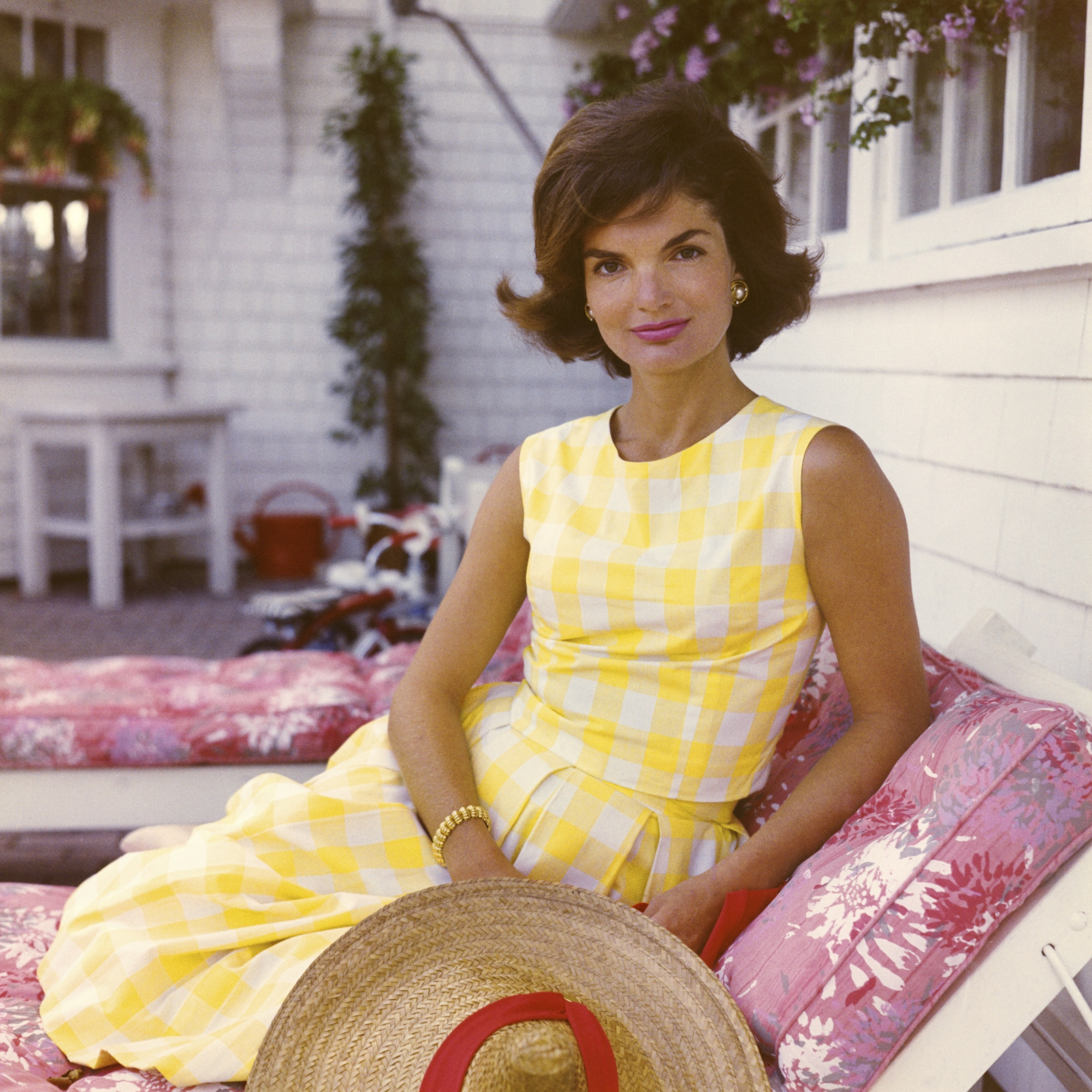 Jacqueline Kennedy by Jacques Lowe, 1960