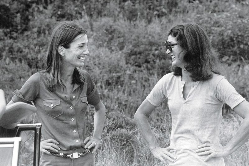 Lee and Jackie in Montauk, 1972. Photo: Peter Beard/Art + Commerce via Vanity Fair.