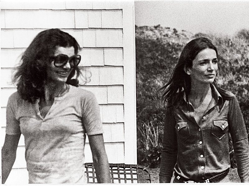 Jackie and Lee in Montauk, New York. Photo courtesy of Lee Radziwill.