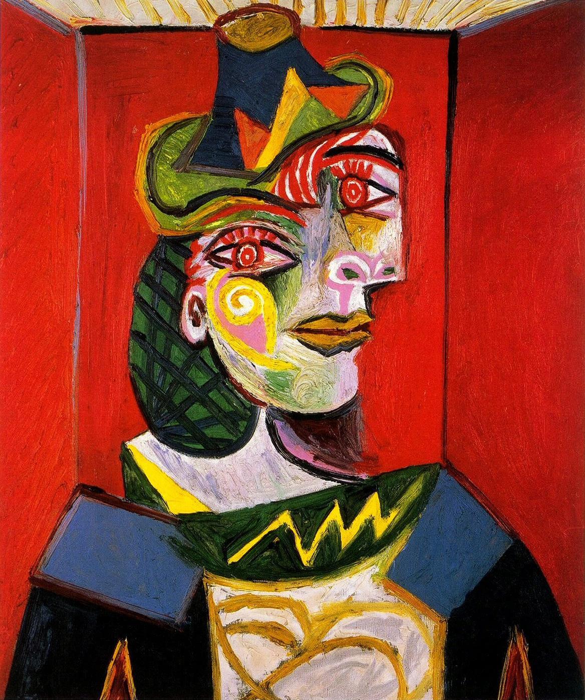 Dora Maar by Picasso, 1938