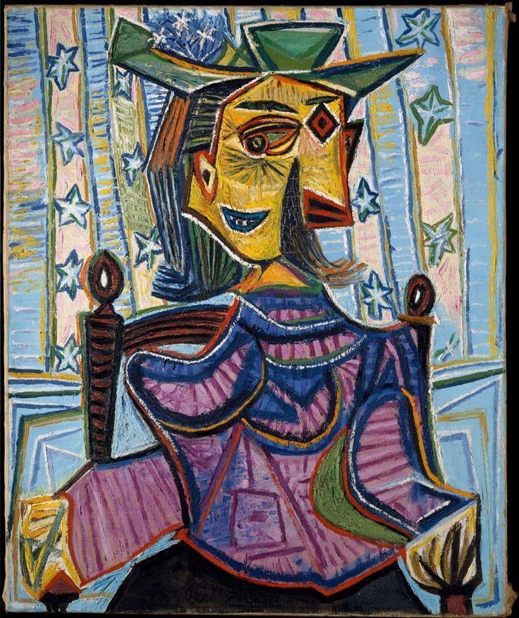 Dora Maar by Picasso, 1937
