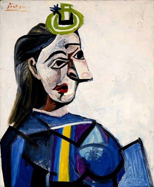 Dora Maar by Picasso, 1941